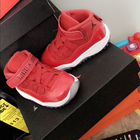75cf49097fa Jordan Shoes | Baby Red Retro 11 | Poshmark